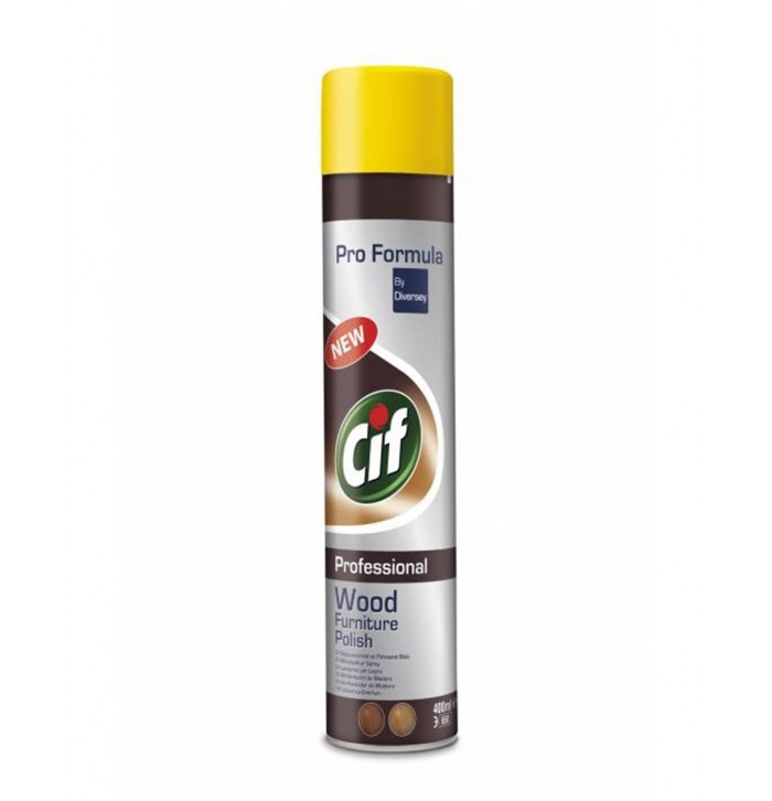 Cif Professional Wood Furniture Polish 400ml