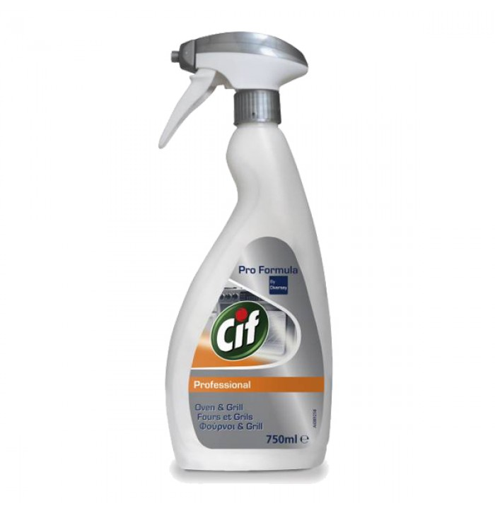 Cif Prof. Oven & Grill Cleaner καθαριστικό φούρνων 750ml